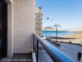 Apartment, modern und strandnah mit Meerblick in El Médano