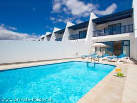Villa mit Privatpool in Lanzarote