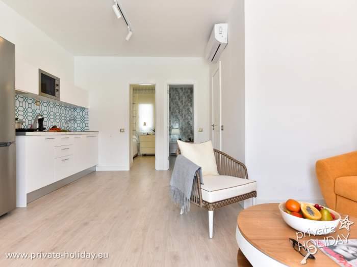 Außenküche Mit Kindern : Wohnung mit pool jacuzzi grill und außenküche in maspalomas