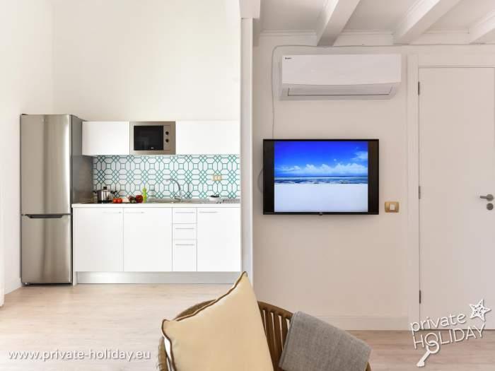 Außenküche Für Kinder : Wohnung mit pool jacuzzi grill und außenküche in maspalomas