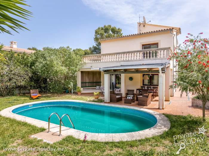 Beliebt Villa mit beheizbaren Pool, Garten und Terrasse auf Mallorca BL84