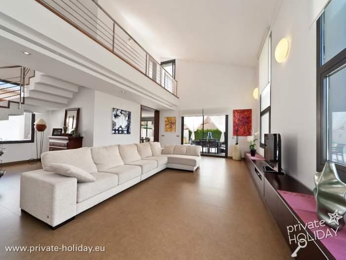 Moderne Villa mit Privatpool, Terrasse & Grill in Inca-Mallorca