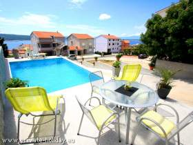 FeWo in Crikvenica mit Pool