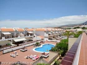 Ferienwohnung mit traumhaftem Poolblick in Arona