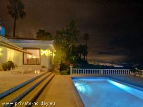 Luxusvilla Teneriffa mit Privatpool