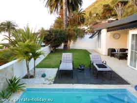 Modernes Ferienhaus in La Orotava mit Pool & Panoramaaussicht