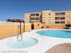 Fewo in El Medano mit Pool & Balkon