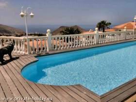 Studio mit Pool und großer Terrasse in Chayofa auf Teneriffa