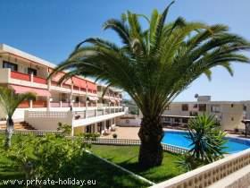 Apartment mit Meerblick direkt am Strand von Los Cristianos