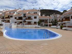 Apartment mit Terrasse und beheizbarem Pool in Los Cristianos